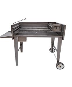 megamaster 1000 deluxe patio braai stainless steel