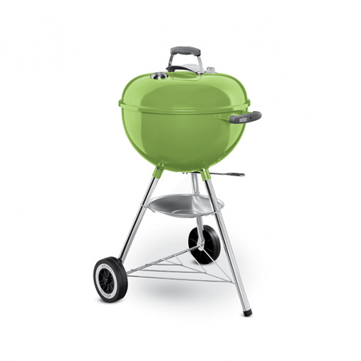 Weber 47cm one-touch spring green charcoal kettle braai BBQ grill