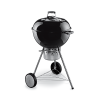 Weber 57cm one touch premium black charcoal braai grill BBQ