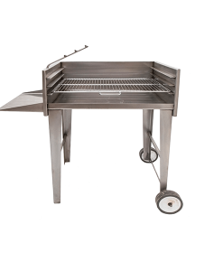 Megamaster 800 mini patio charcoal braai BBQ Grill