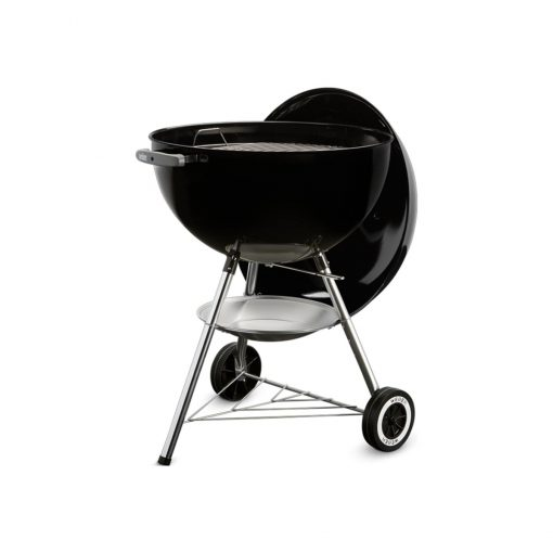 Weber 57cm one-touch black original charcoal kettle braai grill BBQ