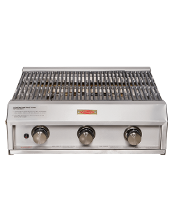 Jetmaster countertop_3burner gas grill BBQ Braai
