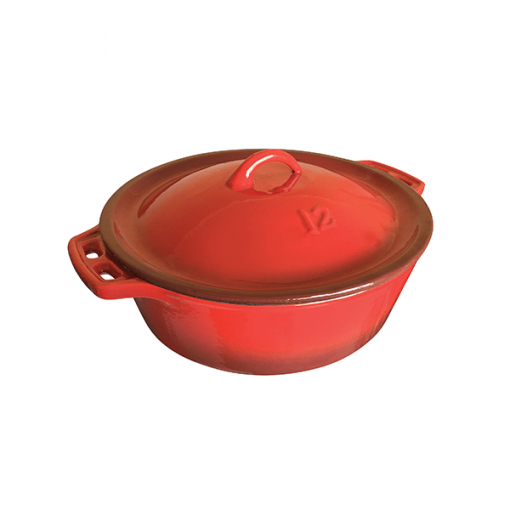 Megamaster enamel pot 12