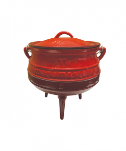megamaster enamel potjie red