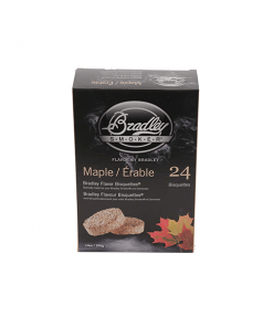 bradley smoker Maple Bisquettes 24-Pack