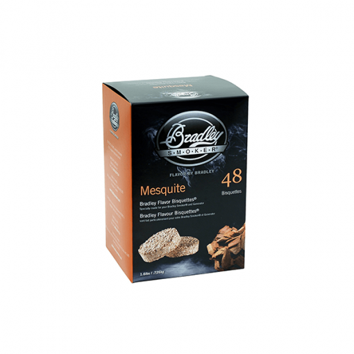 bradley smoker Mesquite flavour Bisquettes 48-Pack