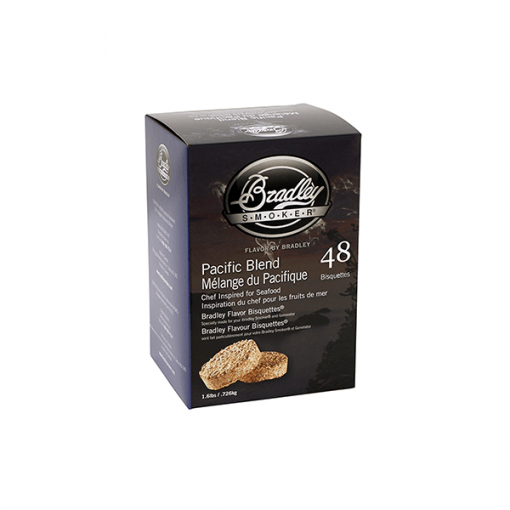 bradley smoker Pacific Blend Bisquettes 48-Pack