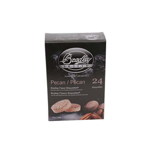 bradley smoker Pecan flavour Bisquettes 24-Pack