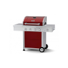 Megamaster blaze 400 elite red 4 burner gas braai
