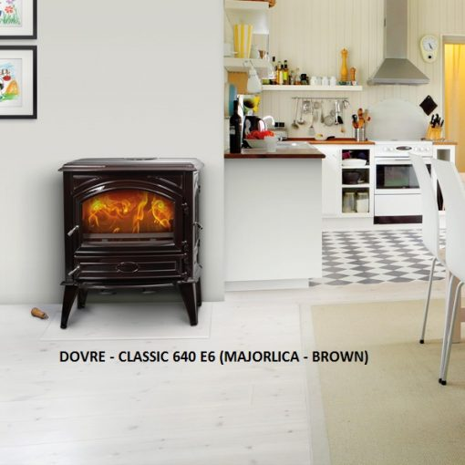 Dovre – Classic 640 Series Fireplace 8