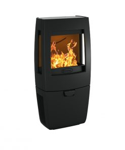 Dovre – Sense Series 3-sided glass fireplace 1