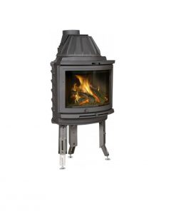 Dovre 2000 CB BSA built-in with ashtray fireplace 1