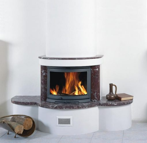 Dovre 2000 CB BSA built-in with ashtray fireplace 3