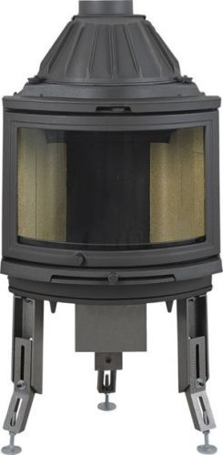 Dovre 2000 CB BSA built-in with ashtray fireplace 4