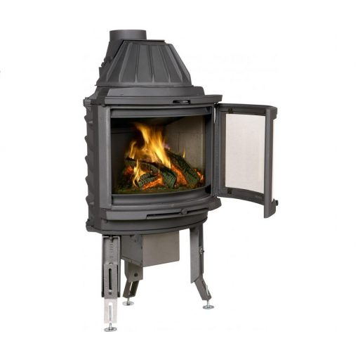 Dovre 2000 CB BSA built-in with ashtray fireplace 5