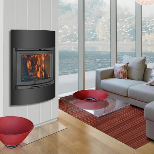 Dovre 2000 CB BSA built-in with ashtray fireplace 6