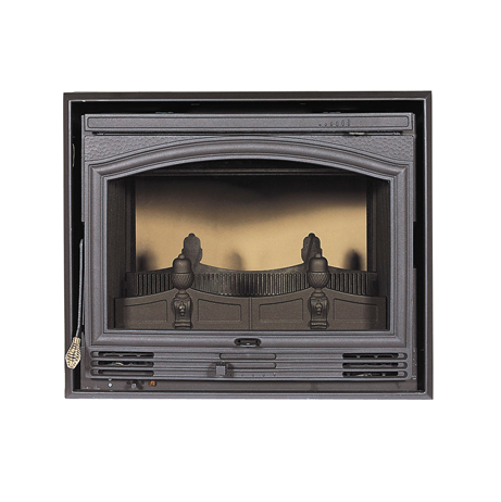 Dovre 2510 RTD double sided fireplace 2