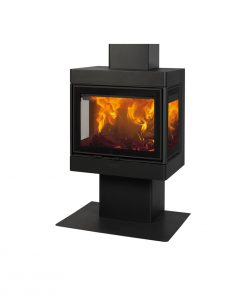 Dovre 2575 S3 wood-burning freestanding fireplace 1