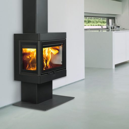 Dovre 2575 S3 wood-burning freestanding fireplace 3