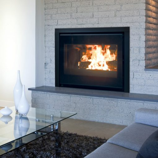 Dovre 2620SCB insert with fans fireplace 5