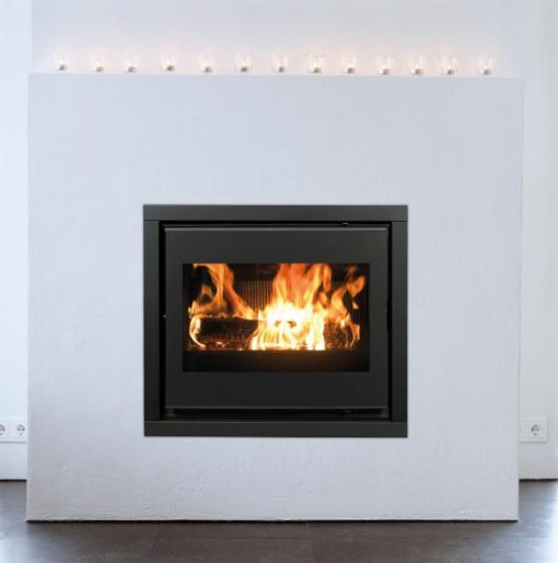 Dovre 2620SCB insert with fans fireplace 6