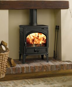 Dovre 425 GM freestanding multifuel cast fireplace 1