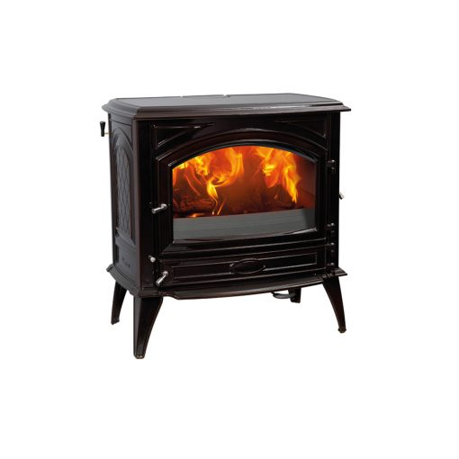 Dovre 760 GM with hopper fireplace 1
