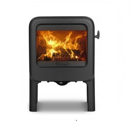 Dovre Rock 350 on tablet fireplace 3