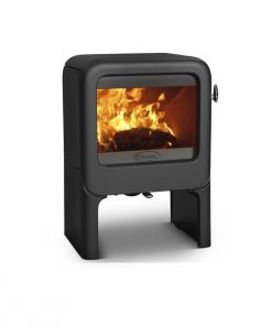 Dovre Rock 350 on tablet fireplace 4