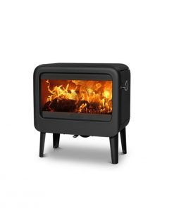 Dovre Rock 500 on legs Fireplace 1
