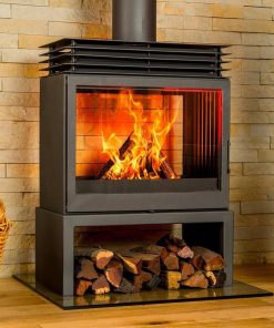 Hydrofire Bavorov Double Sided Fireplace 1