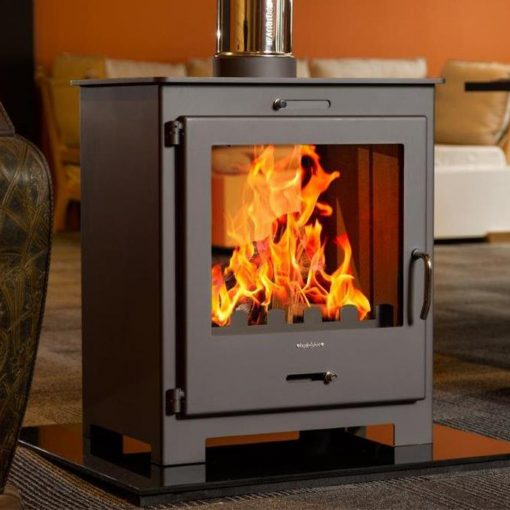 Hydrofire Brita Double Sided Fireplace 1