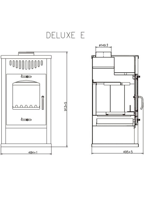 Hydrofire Deluxe E Fireplace 3