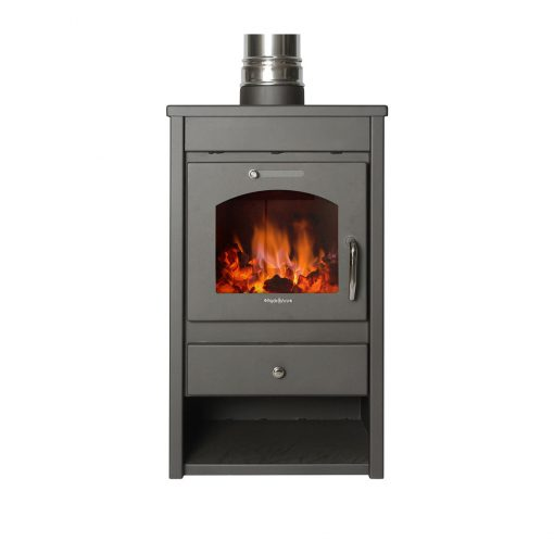 Hydrofire Deluxe L Fireplace 1