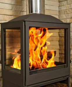 Hydrofire L5 Strasburg Four Glass Fireplace 1