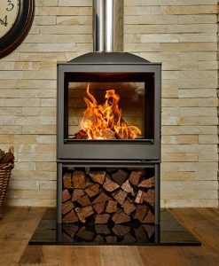 Hydrofire L51 DF Nova Dbl Sided Fireplace 1