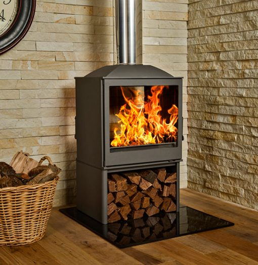 Hydrofire L51 DF Nova Dbl Sided Fireplace 2