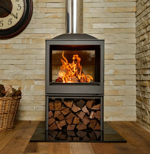 Hydrofire L51 DF Nova Dbl Sided Fireplace 3