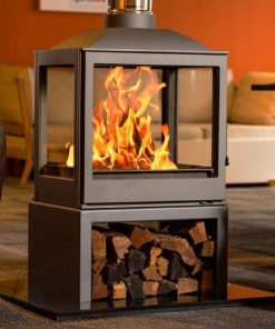 Hydrofire L51 Nova Four Glass Fireplace 1