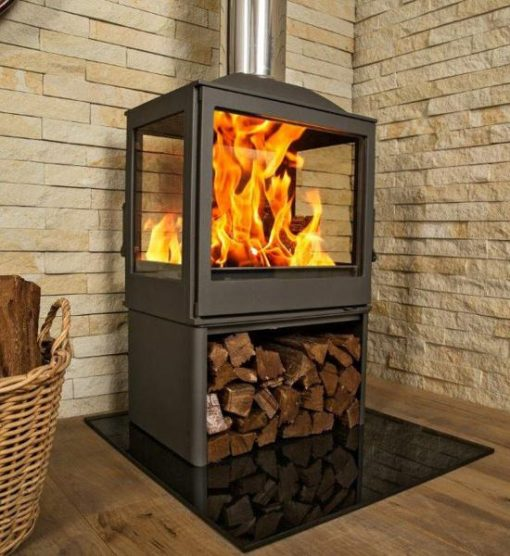Hydrofire L51 Nova Four Glass Fireplace 2