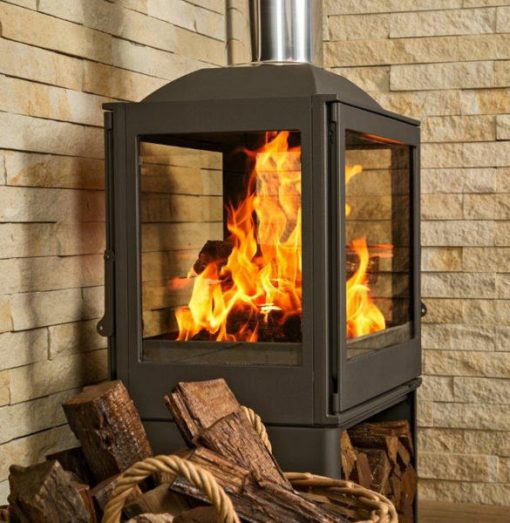 Hydrofire L51 Nova Four Glass Fireplace 3