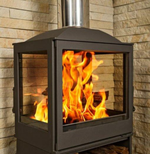 Hydrofire L51 Nova Four Glass Fireplace 4