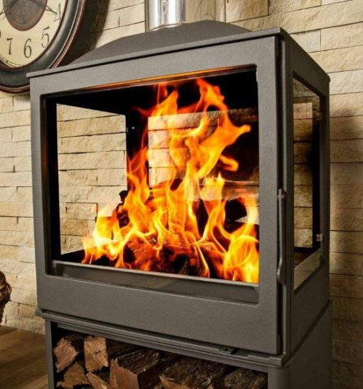 Hydrofire L51 Nova Four Glass Fireplace 5