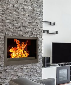 Hydrofire L7 Bordeaux Damper Fireplace 1