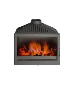 Hydrofire L7 Bordeaux Fireplace 2
