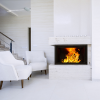 Hydrofire L7 Bordeaux Shadow Fireplace 1