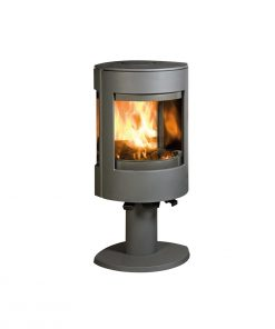 dovre-Astroline-3-on-pedastal-fireplace