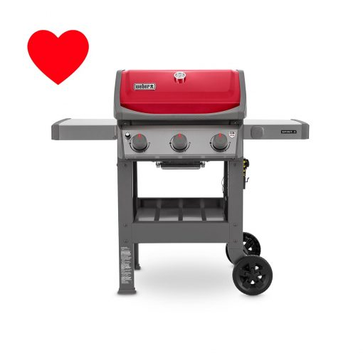 Weber-spirit-ii-E310-red-gas-braai-grill