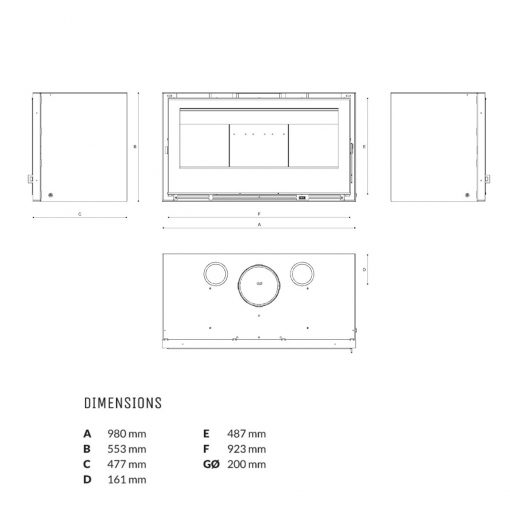 ikos-fireplace-100-dimensions