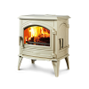 Dovre – Classic 640WD Closed Combustion Fireplace off-white Enamel E8